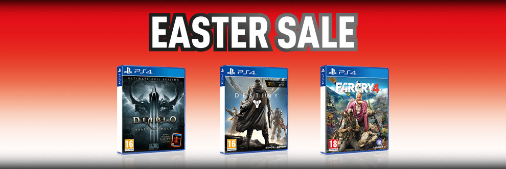PlayStation 4 Easter Sale - Buy Now at GAME.co.uk!