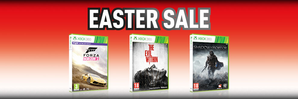 Xbox 360 Easter Sale - Buy Now at GAME.co.uk!