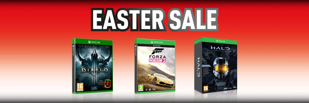 Xbox One Easter Sale - Buy Now at GAME.co.uk!
