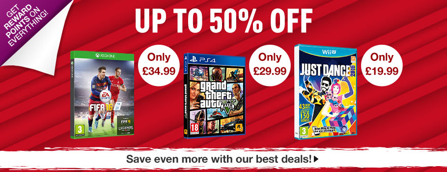 Up to 50% off - Buy it Now at GAME.co.uk