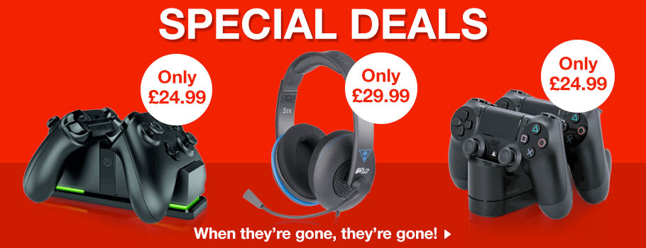 Special Accessory Deals - Buy Now at GAME.co.uk!