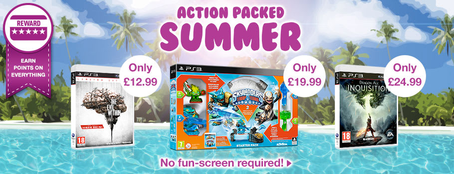 Action Packed Summer Deals for PlayStation 3 - Buy Now at GAME.co.uk!