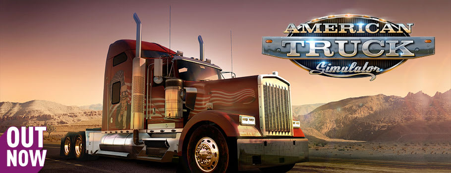 American Truck Simulator for PC - Pre-order Now at GAME.co.uk!