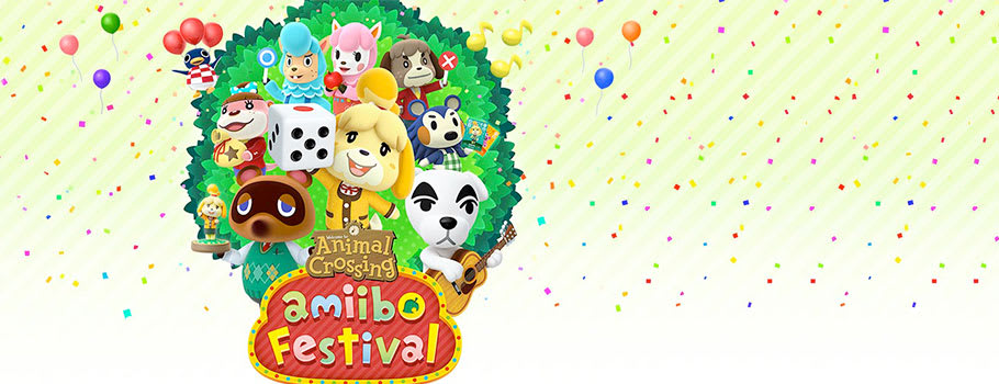 Animal Crossing amiibo Festival - Only at GAME for Nintendo Wii U - Preorder Now at GAME.co.uk!