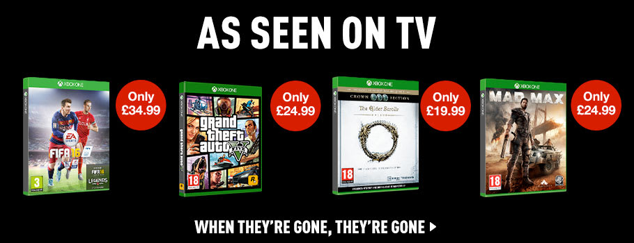 As Seen on TV for Xbox One - Buy Now at GAME.co.uk!