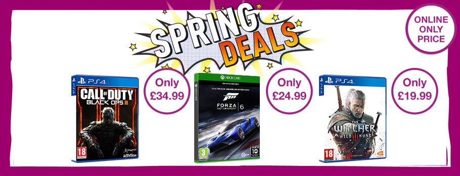 Bank Holiday Deals on PS4, Xbox One, Ps3, Xbox 360, Nintendo Wii U, 3DS and PC Games  now on  - Buy Now at GAME.co.uk!