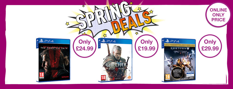 Bank Holiday Deals for PS4 Games - Buy Now at GAME.co.uk!