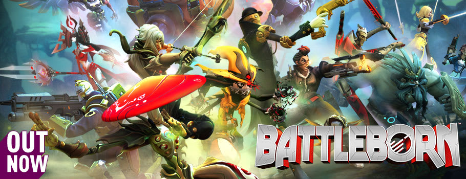 Battleborn on Xbox One, Ps4 and PC - Pre-order Now at GAME.co.uk!