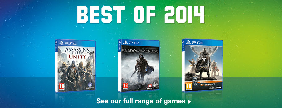 Best of 2014 Deals for PlayStation 4 - Buy Now at GAME.co.uk!