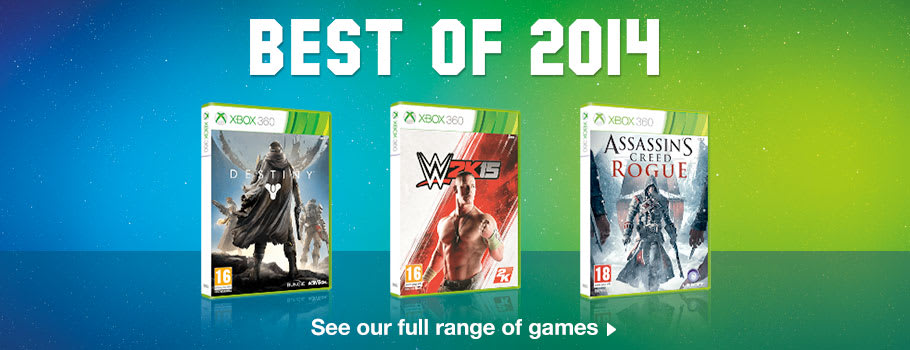 Best of 2014 Deals for Xbox 360 - Buy Now at GAME.co.uk!