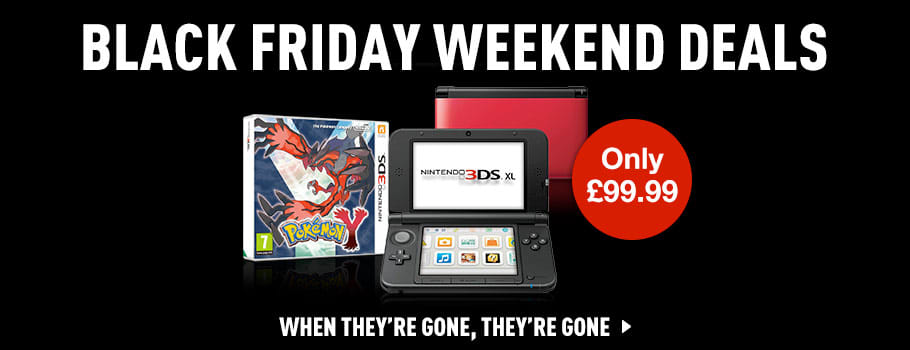Pokemon 3DS XL Black Friday Deal - Buy now at GAME.co.uk