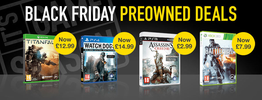 Black Friday Preowned Deals