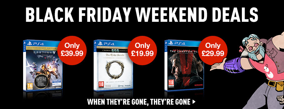 Black Friday Software Deals for PlayStation 4 - Buy Now at GAME.co.uk!