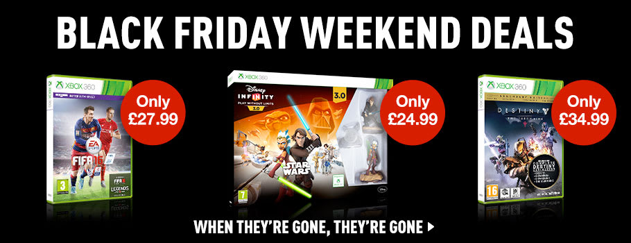 Black Friday Software Deals for Xbox 360 - Buy Now at GAME.co.uk!