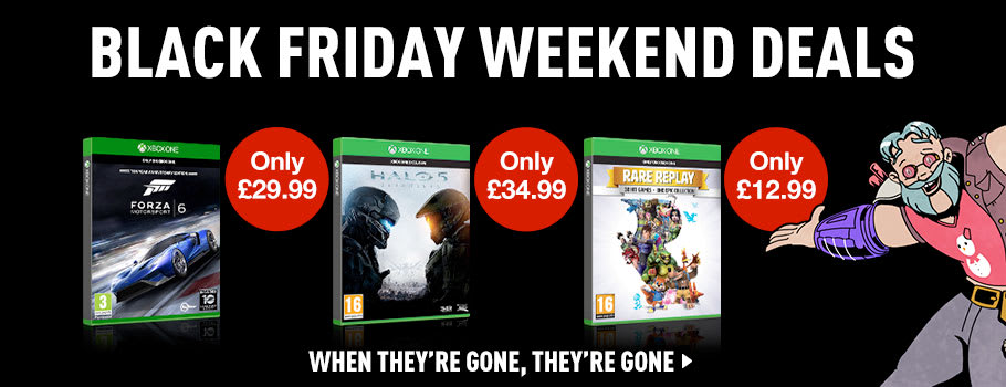 Black Friday Software Deals for Xbox One - Buy Now at GAME.co.uk!