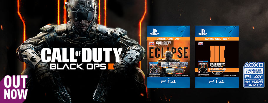 Call of Duty Black Ops 3 - Eclipse  DLC Pack 2 for PS4 - Download Now at GAME.co.uk!