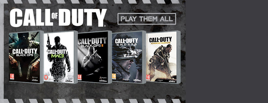 Call of Duty sale on PSN - Buy Now at GAME.co.uk!
