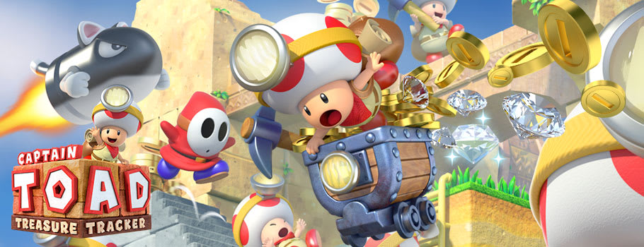 Captain Toad Treasure Tracker on Nintendo eShop - Download Now at GAME.co.uk!