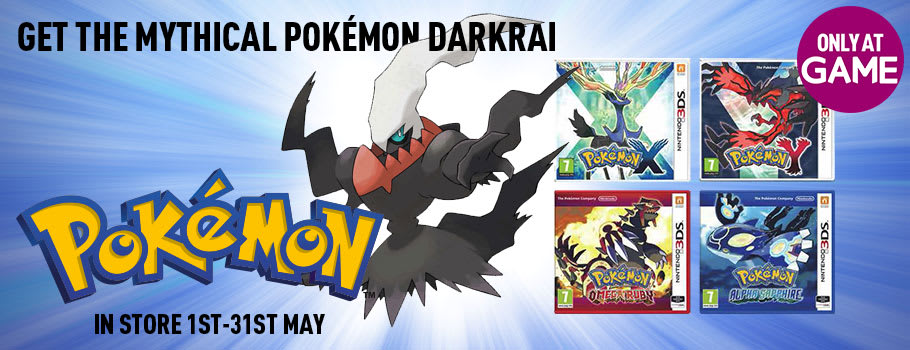 Catch Darkrai - Only at GAME.co.uk!