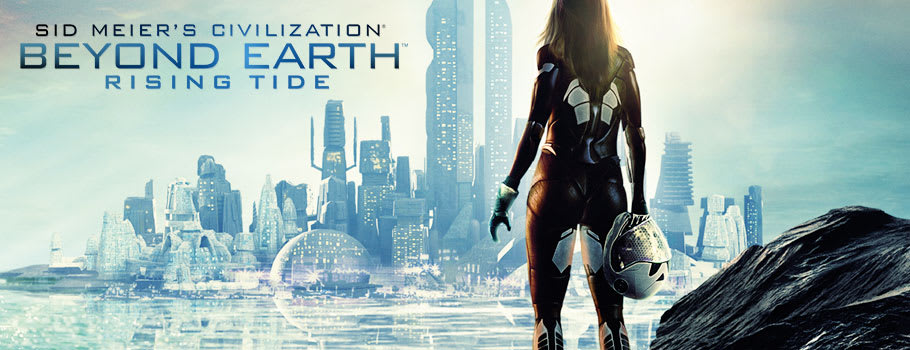 Sid Meier's: Beyond Earth Rising Tide for PC  - Out Now at GAME.co.uk!