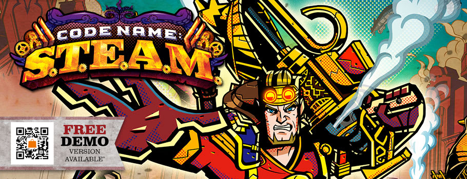 Code Name: STEAM for Nintendo 3DS - Preorder Now at GAME.co.uk!
