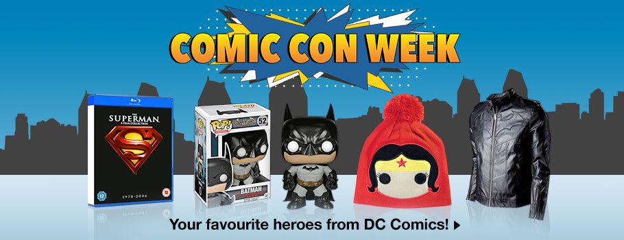 Comicon Theme Week - Now at GAME.co.uk!