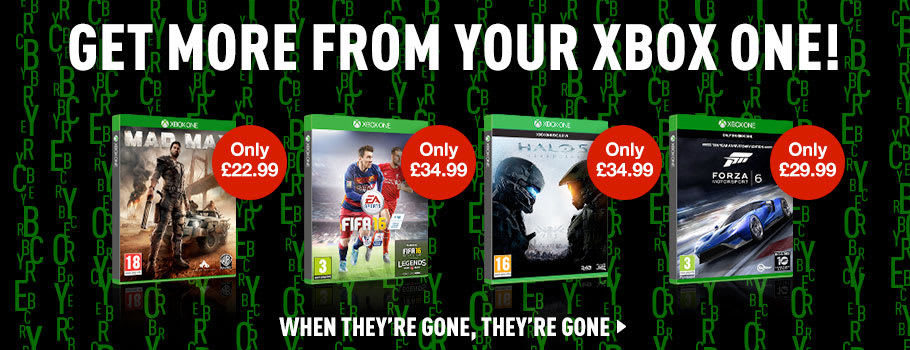 Cyber Monday Xbox One Deals - Buy Now at GAME.co.uk!