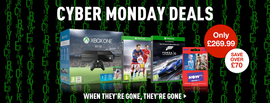 Xbox One Console Deals - Buy Now at GAME.co.uk!