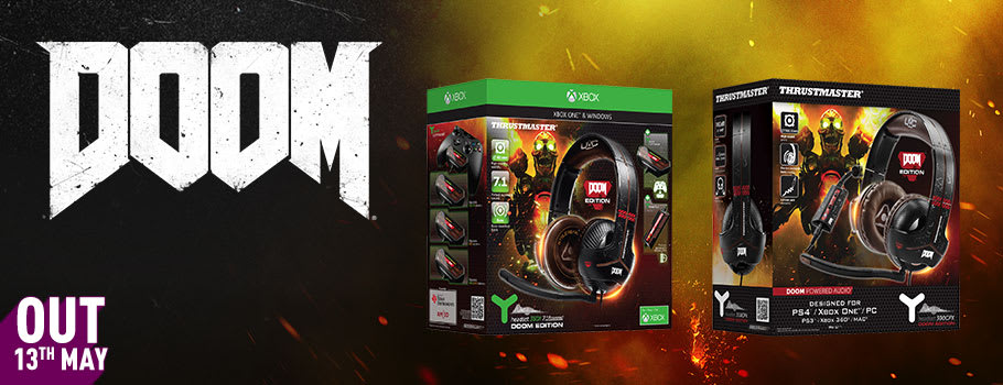 Doom headsets for Xbox One -Buy Now at GAME.co.uk!
