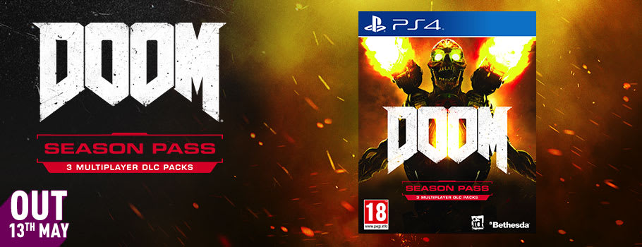 Doom Season Pass for PlayStation Network - Pre-purchase Now at GAME.co.uk!