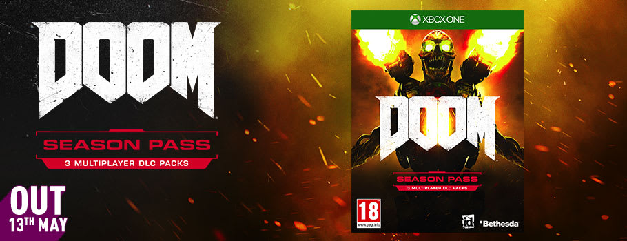 Doom Season Pass for Xbox Live - Pre-Purchase Now at GAME.co.uk!