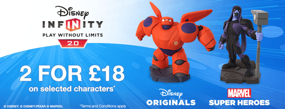 Disney Infinity 2 for £18 - Buy Now at GAME.co.uk!
