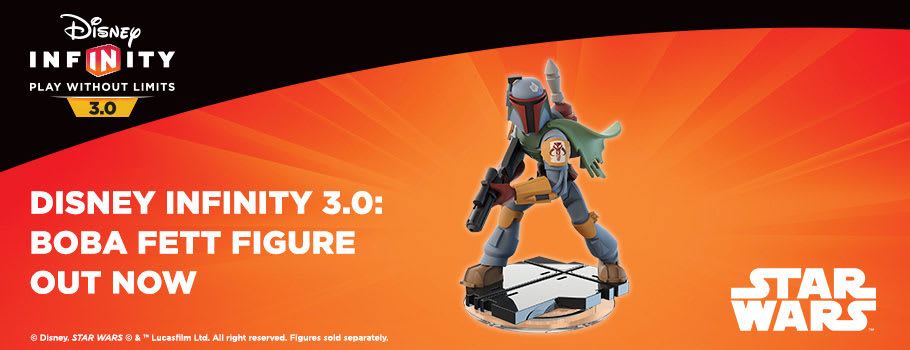 Disney Infinity 3.0 Boba Fett Figure for Nintendo Wii U - Buy Now at GAME.co.uk!