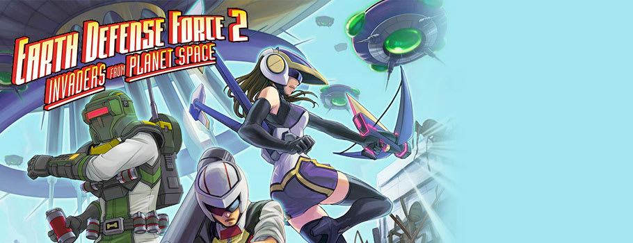 Earth Defence Force 2: Invaders from Planet Space  for PlayStation VITA - Preorder Now at GAME.co.uk!