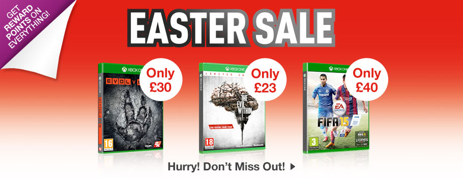 SALE for Xbox One - Buy Now at GAME.co.uk!