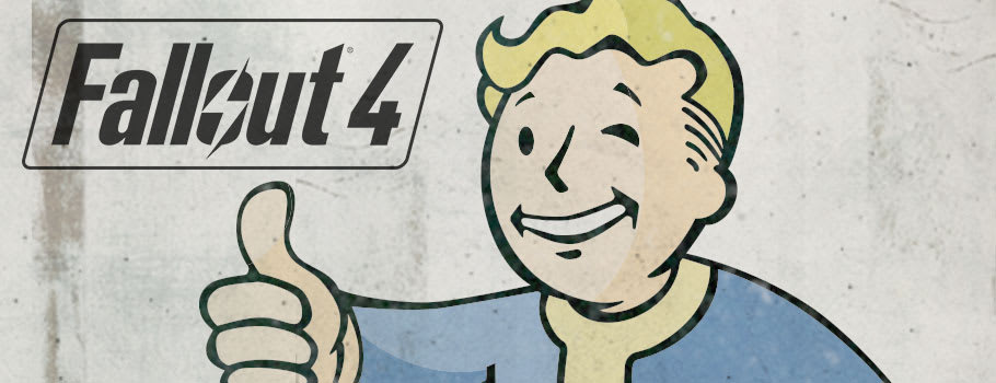 Fallout 4 with Steelbook Preorder Now at GAME.co.uk!