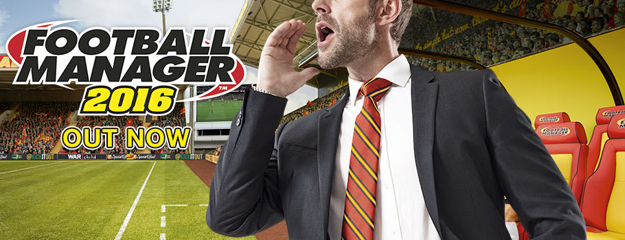 Football Manager 2016 Pre-order Now at GAME.co.uk!