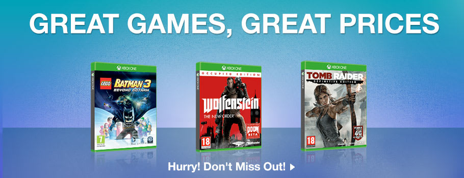 Great Games, Great Prices for Xbox One - Buy Now at GAME.co.uk!