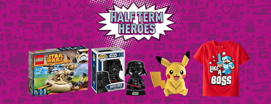 Have fun this Half Term with these games, toys and consoles  - Buy Now at GAME.co.uk!