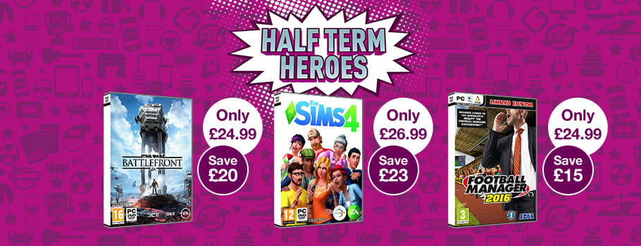 Half Term Heroes for PC - Buy Now at GAME.co.uk!
