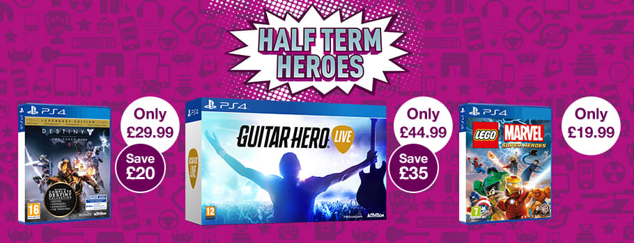 Half Term Heroes Deals for PS4 -Buy Now at GAME.co.uk!