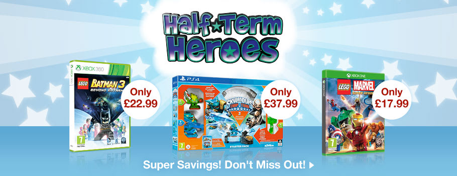 Half Term Heroes for GAME Junior - Buy Now at GAME.co.uk!