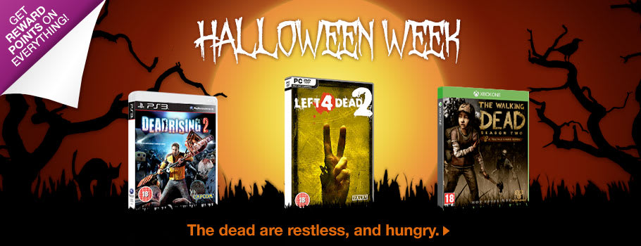 Halloween Week Now at GAME.co.uk!