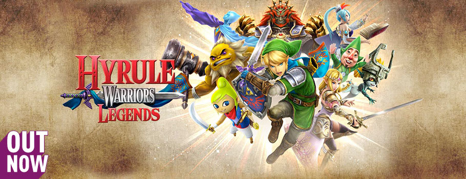 Hyrule Warriors Legends for Nintendo 2DS, 3DS and 3DS XL on Nintendo eShop - Download Now at GAME.co.uk!