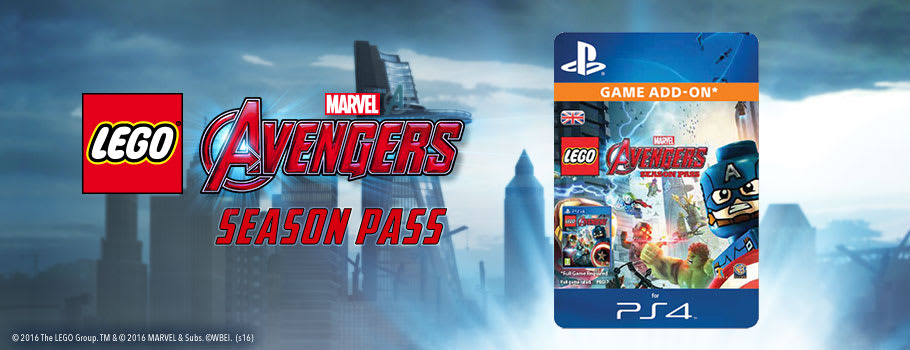LEGO Avengers Season Pass for PSN - Download Now at GAME.co.uk!