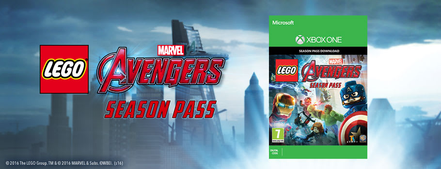LEGO Avengers Season Pass for Xbox Live - Buy Now at GAME.co.uk!
