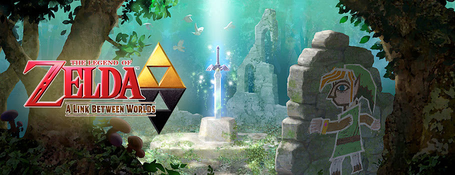 Legend of Zelda: A Link Between Worlds for Nintendo eShop - Download Now at GAME.co.uk!