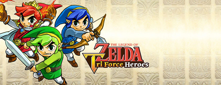 Legend of Zelda Triforce Heroes for Nintendo eShop - Download Now at GAME.co.uk!