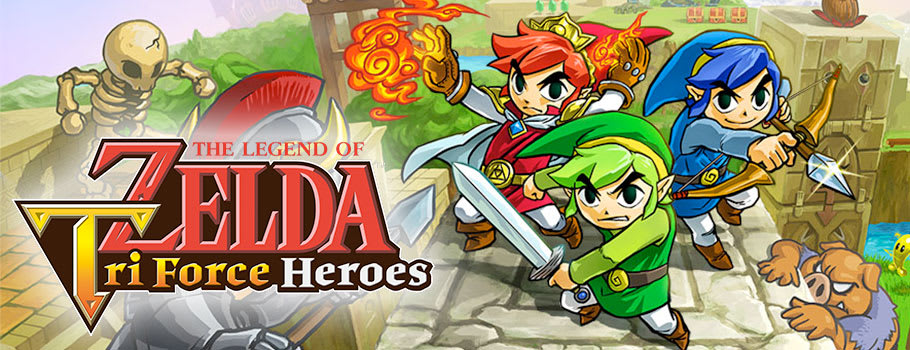 The Legend of Zelda: Triforce Heroes for 2DS, 3DS and 3DS XL from Nintendo eShop - Download Now at GAME.co.uk!