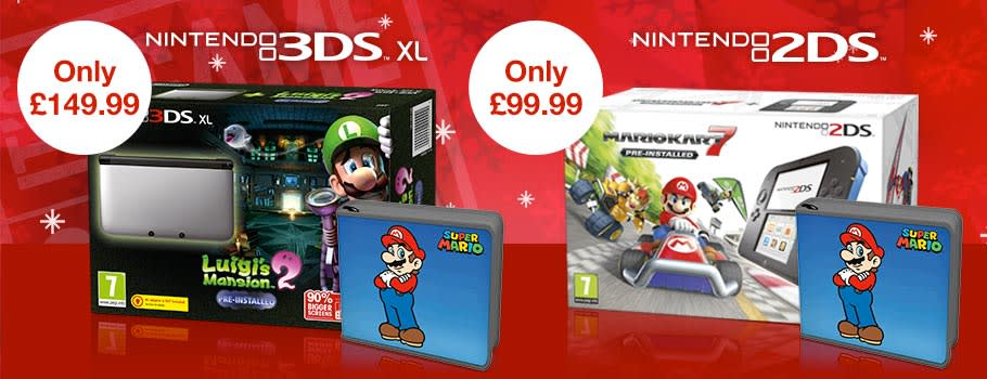 Nintendo 2DS Console Bundles - Buy Now at GAME.co.uk!